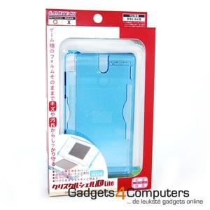 Crystal Case Clear Blue