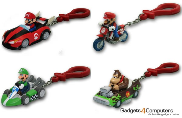 Super Mario Kart Keychain Collection