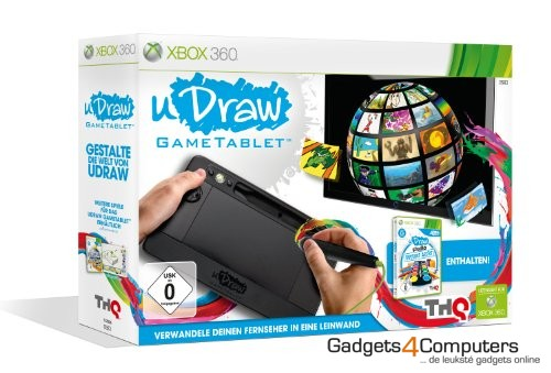 uDraw Gametablet + Game: Studio Instant Artist