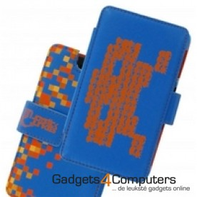 Playcase Invaders - Blauw/Oranje