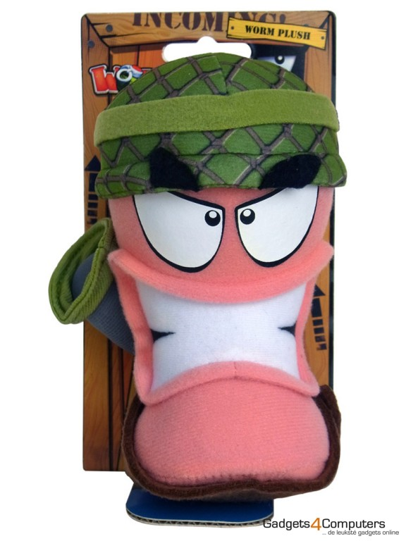 Worms Army Plush - 34 cm