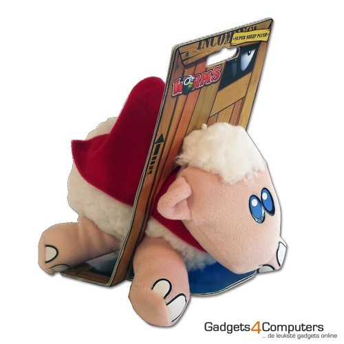 Worms Super Sheep Plush 15 cm