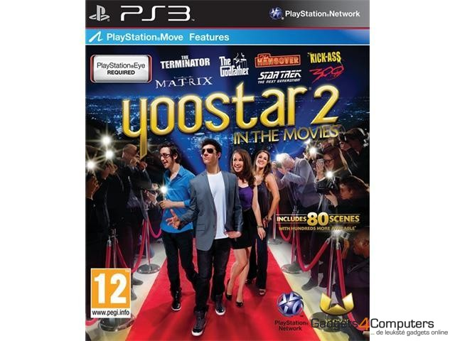 PS Move: Yoostar 2: In the Movies