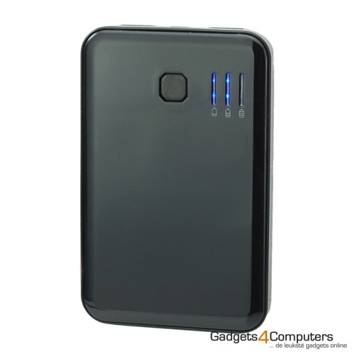 Power Bank - iPad/iPhone - 5000 mAh - Zwart