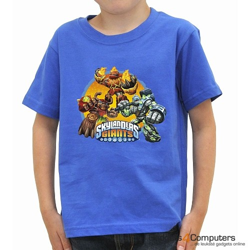 T-shirt - Skylanders Giants - Blauw - 5/6