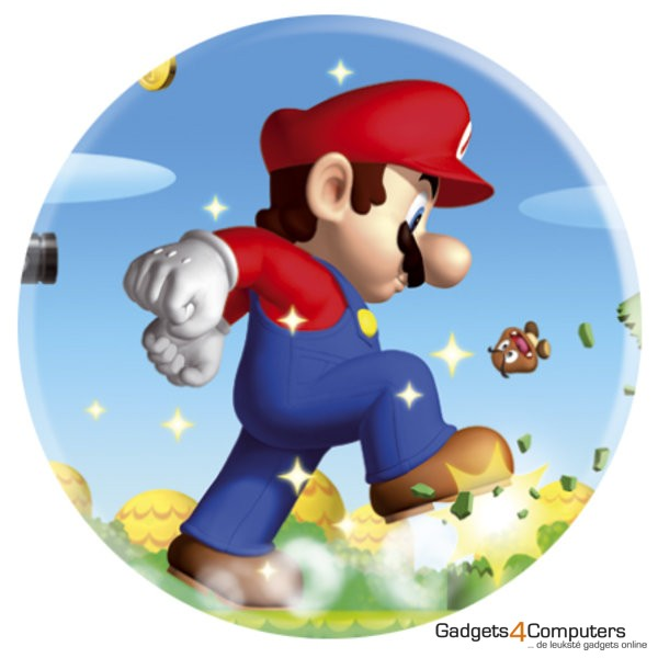 Button Badge - Mario - Nintendo