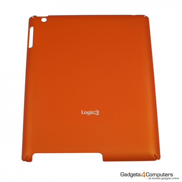 Rubberised Hard Shell - Oranje