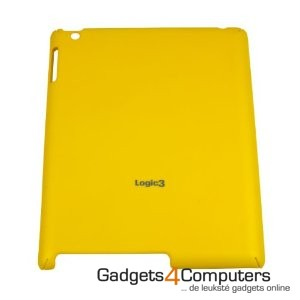 Rubberised Hard Shell - Geel