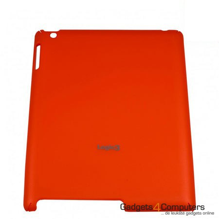 Rubberised Hard Shell - Rood