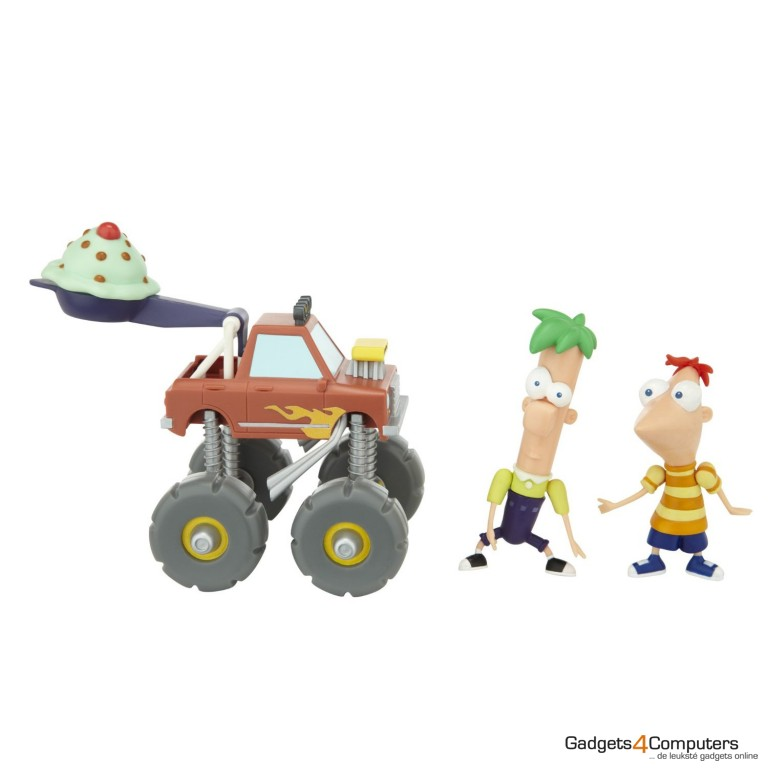 Phineas and Ferb - Monster Truck - Figures