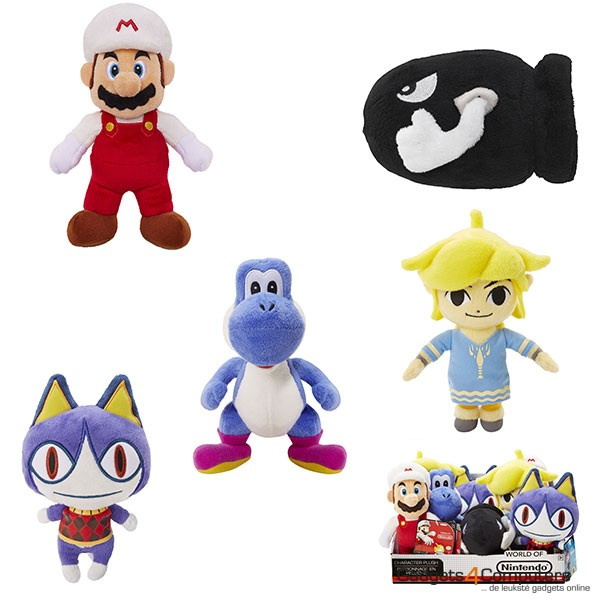 Mario Bros Plush U Assortiment